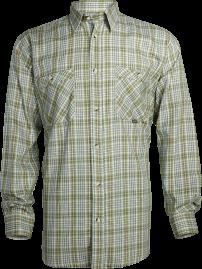 Vzorované bavlněné košile Spotex. košile SANTOR s dlouhým rukávem 0299e6a242