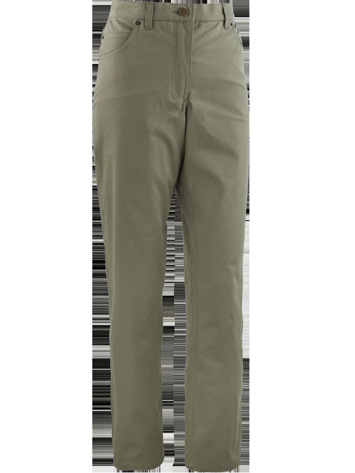 kalhoty TEXAS Elatex dámské khaki  38287a8b8f